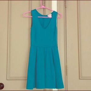Love Addy Turquoise Dress
